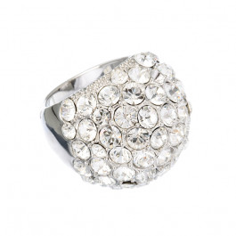 "Ring ""Coccinella"" - crystal"