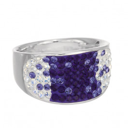 "Ring ""Konkav Freesetting"" - tanzanite/violette"
