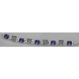 """Armband """"Tiffany"""" - amethyst"""