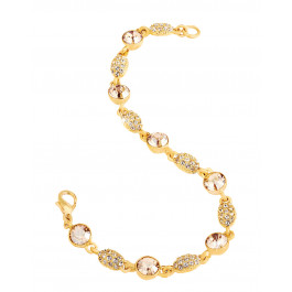 "Armband ""Dream"" - gold/crystal"