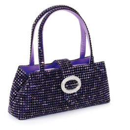 """Kristalltasche """"Tiffany"""" - tanzanite/violette"""