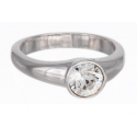 """Ring """"Solitaire"""" - crystal"""