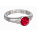 "Ring ""Solitaire"" - light siam"