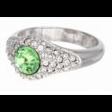 "Ring ""Solitaire Diva"" - peridot"