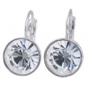 """Ohrstecker """"Solitaire One Diamond"""" - crystal"""