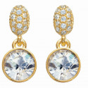 "Ohrstecker ""Dream 1 Diamond"" - gold/crystal"