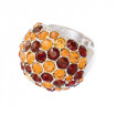 """Ring """"Coccinella"""" - brown shades"""