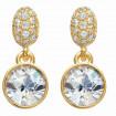 "Ear stud ""Dream 1 Diamond"" - gold/crystal"
